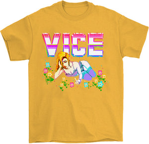 Vice T-Shirt by palm-treat.myshopify.com for sale online now - the latest Vaporwave & Soft Grunge Clothing