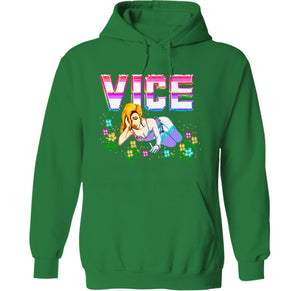 Vice Hoodie by palm-treat.myshopify.com for sale online now - the latest Vaporwave & Soft Grunge Clothing