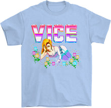 Load image into Gallery viewer, Vice T-Shirt by palm-treat.myshopify.com for sale online now - the latest Vaporwave & Soft Grunge Clothing