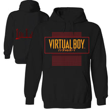 Load image into Gallery viewer, virtual boy 90s retro video game hoodie by palm treat