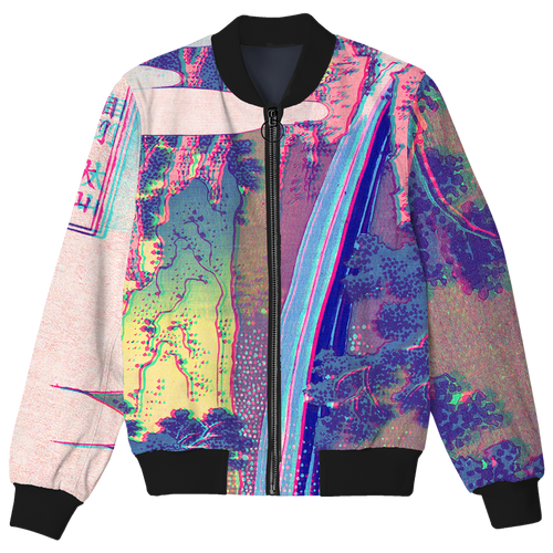 Softcore Waterfall Bomber Jacket
