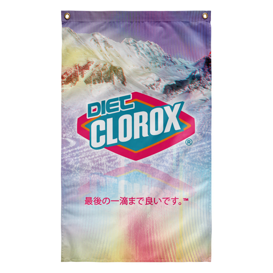 Diet Clorox Tapestry by palm-treat.myshopify.com for sale online now - the latest Vaporwave & Soft Grunge Clothing