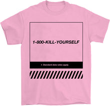 Load image into Gallery viewer, Marie Jeff Palm Treat owners designer in Detroit Kill Yourself T-Shirt