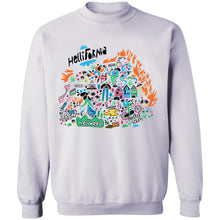Load image into Gallery viewer, Hellifornia Crewneck Sweatshirt