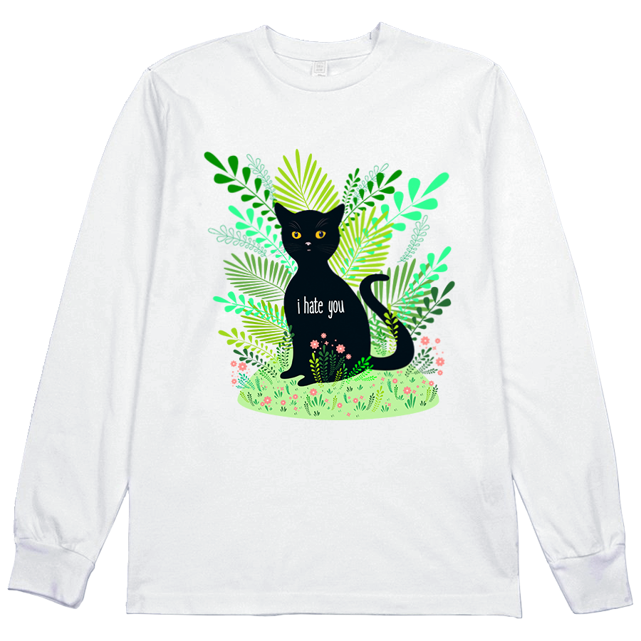 Hate You Cat L/S Tee