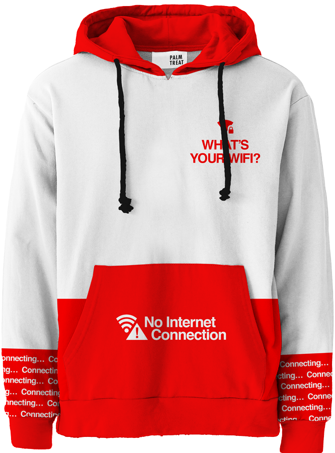 What's Your WiFi? All Over Hoodie