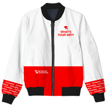 Load image into Gallery viewer, What's Your WiFi? Bomber Jacket
