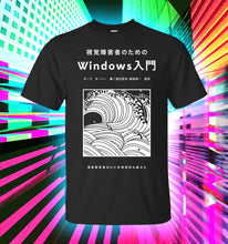 Load image into Gallery viewer, Windows 98 Collection T-shirt *Black*
