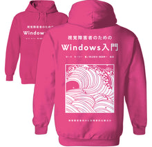 Load image into Gallery viewer, Hokusai tsunami Edo tokyo japanese wave hoodie by palm treat