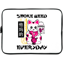 Load image into Gallery viewer, Smoke Weed Everyday Laptop Sleeve - 15 Inch by palm-treat.myshopify.com for sale online now - the latest Vaporwave & Soft Grunge Clothing