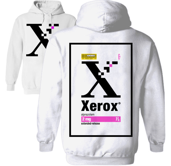 xerox xanax prescription goth suicide hoodie by palm treat