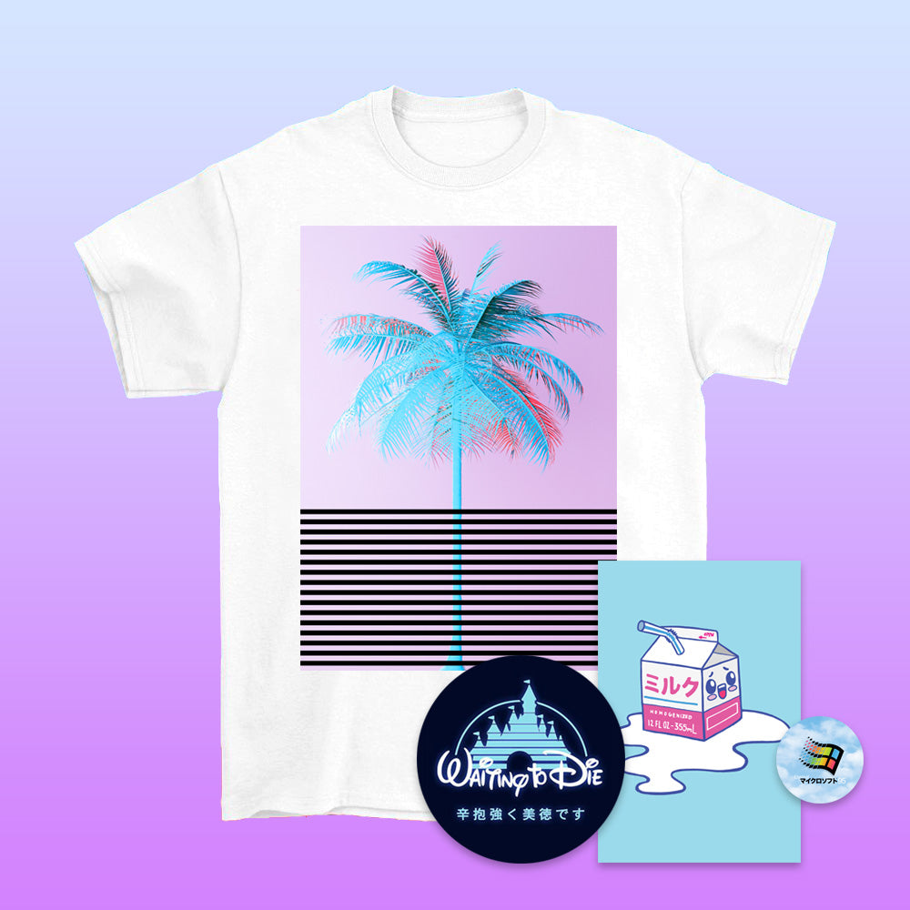 Express Palm T-Shirt - 4XL by palm-treat.myshopify.com for sale online now - the latest Vaporwave & Soft Grunge Clothing