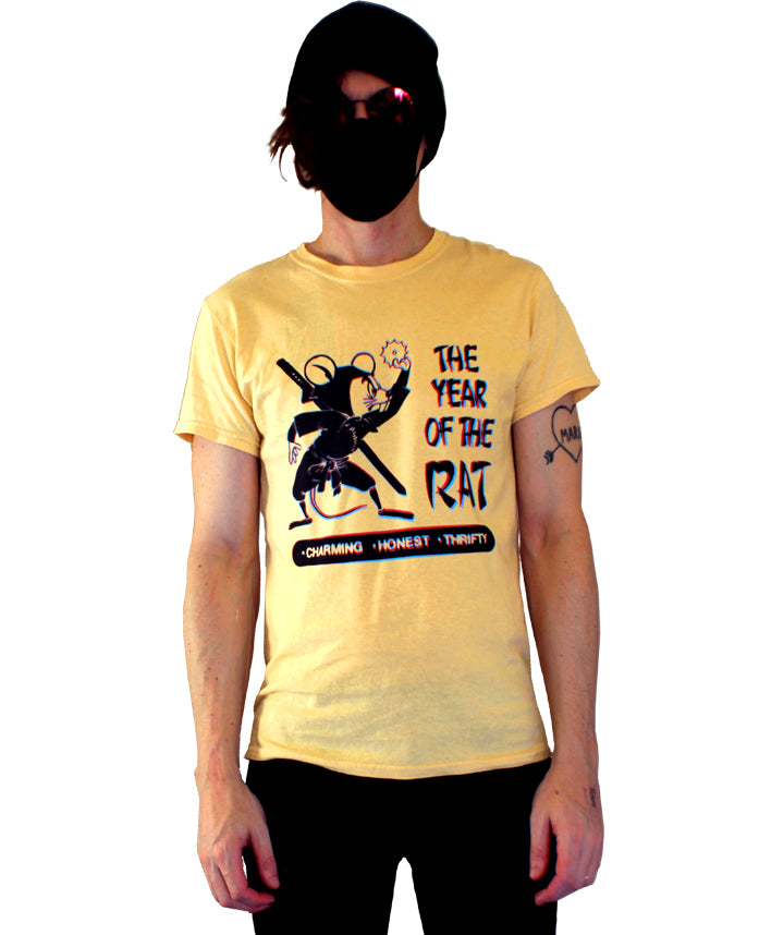 Year of the Rat T-Shirt by palm-treat.myshopify.com for sale online now - the latest Vaporwave & Soft Grunge Clothing