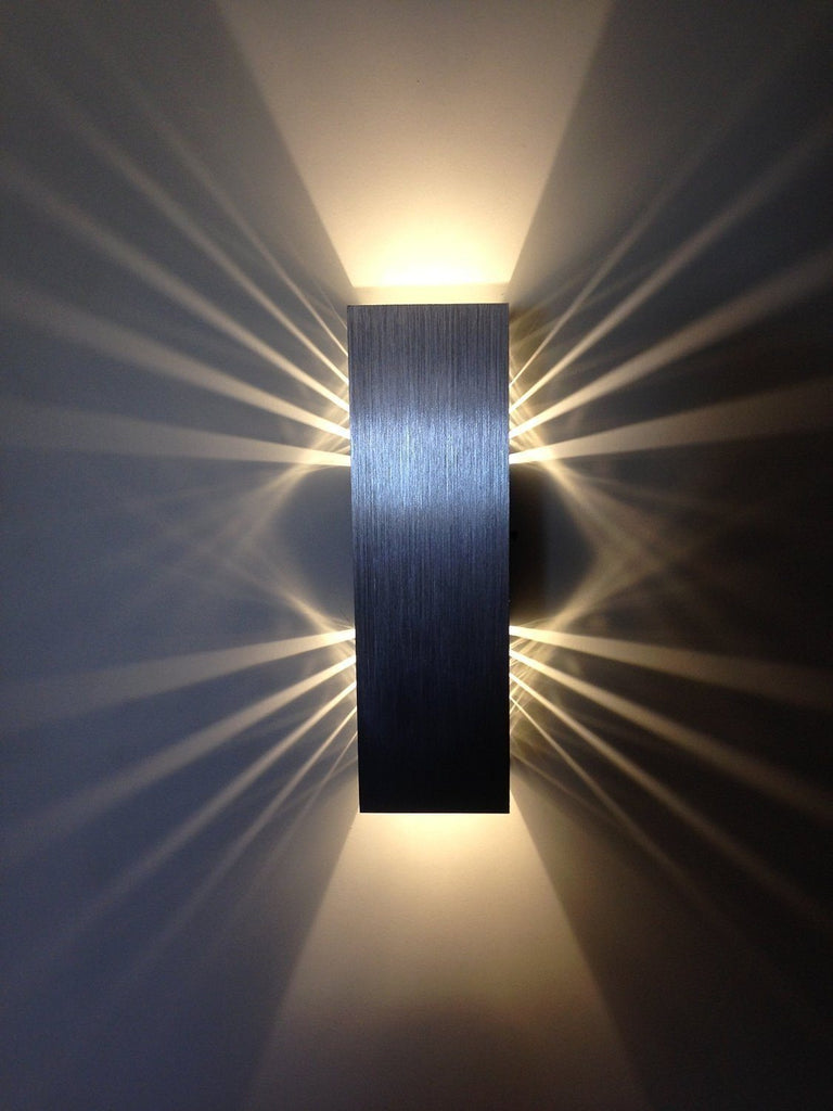 Gweat 2w modern led wall light with scattering light design 2 cubic gweat 2w modern led wall light with scattering light design 2 cubic shades energy class aloadofball Image collections