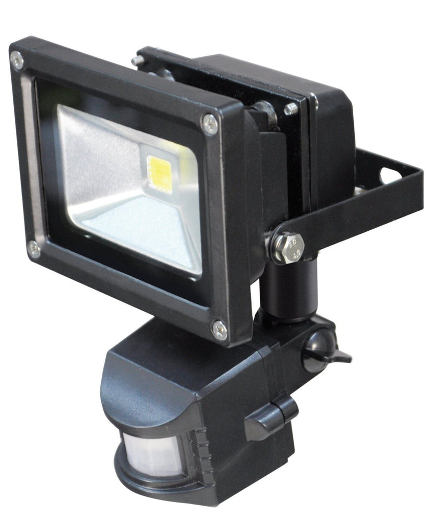 Led low energy flood light with pir sensor black diecast aluminium led low energy flood light with pir sensor black diecast aluminium body ip54 rated aloadofball Images