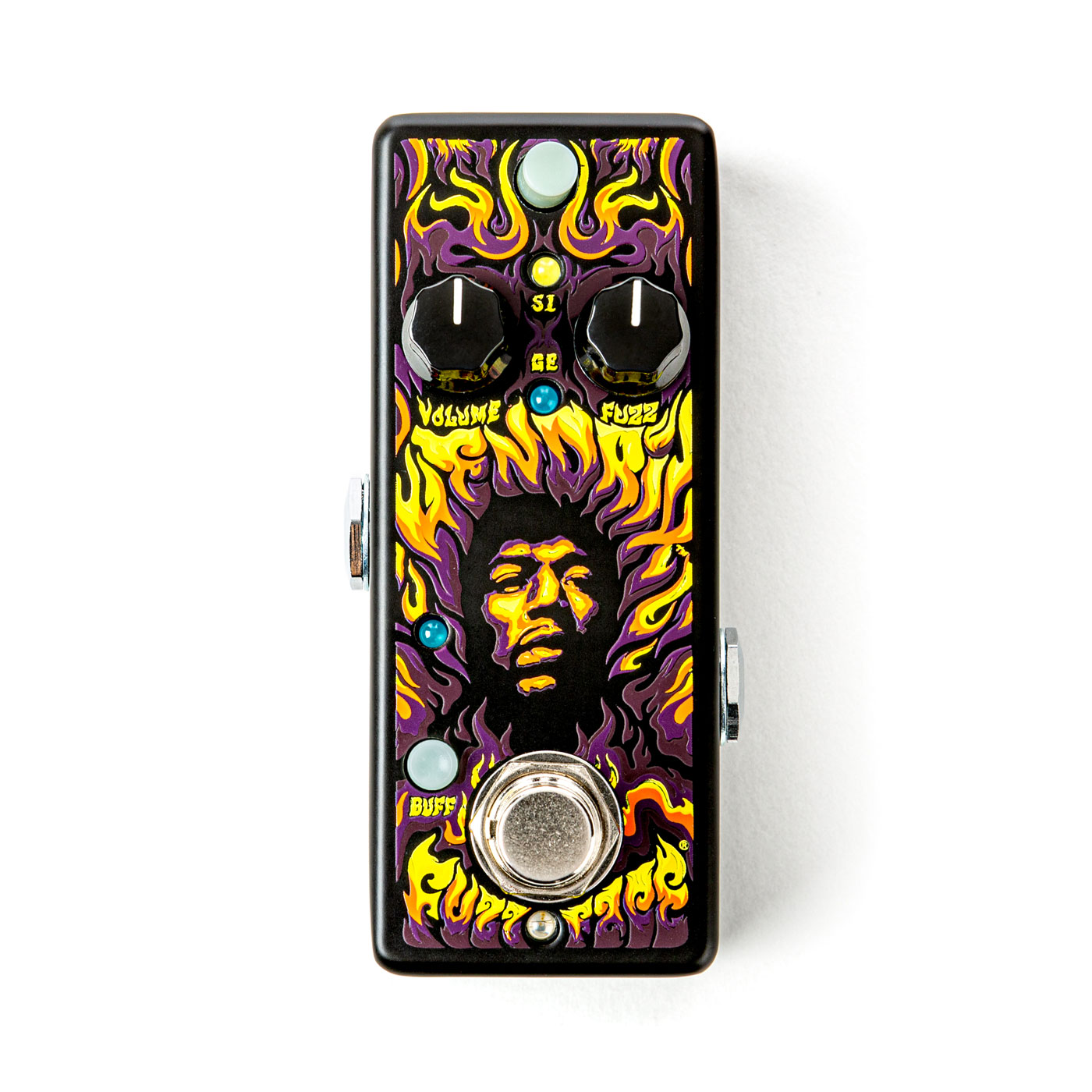 Authentic Hendrix '69 Psych Series Fuzz Face Distortion - JHW1