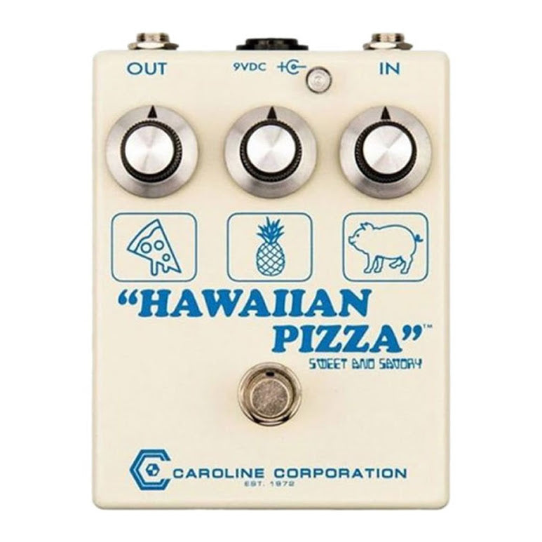Caroline Guitar Hawaiian Pizza