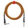 Rattlesnake Cable Company 10' Copper Guitar Cable - Mixed Plugs