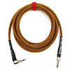 Rattlesnake Cable Company 15' Copper Guitar Cable - Mixed Plugs