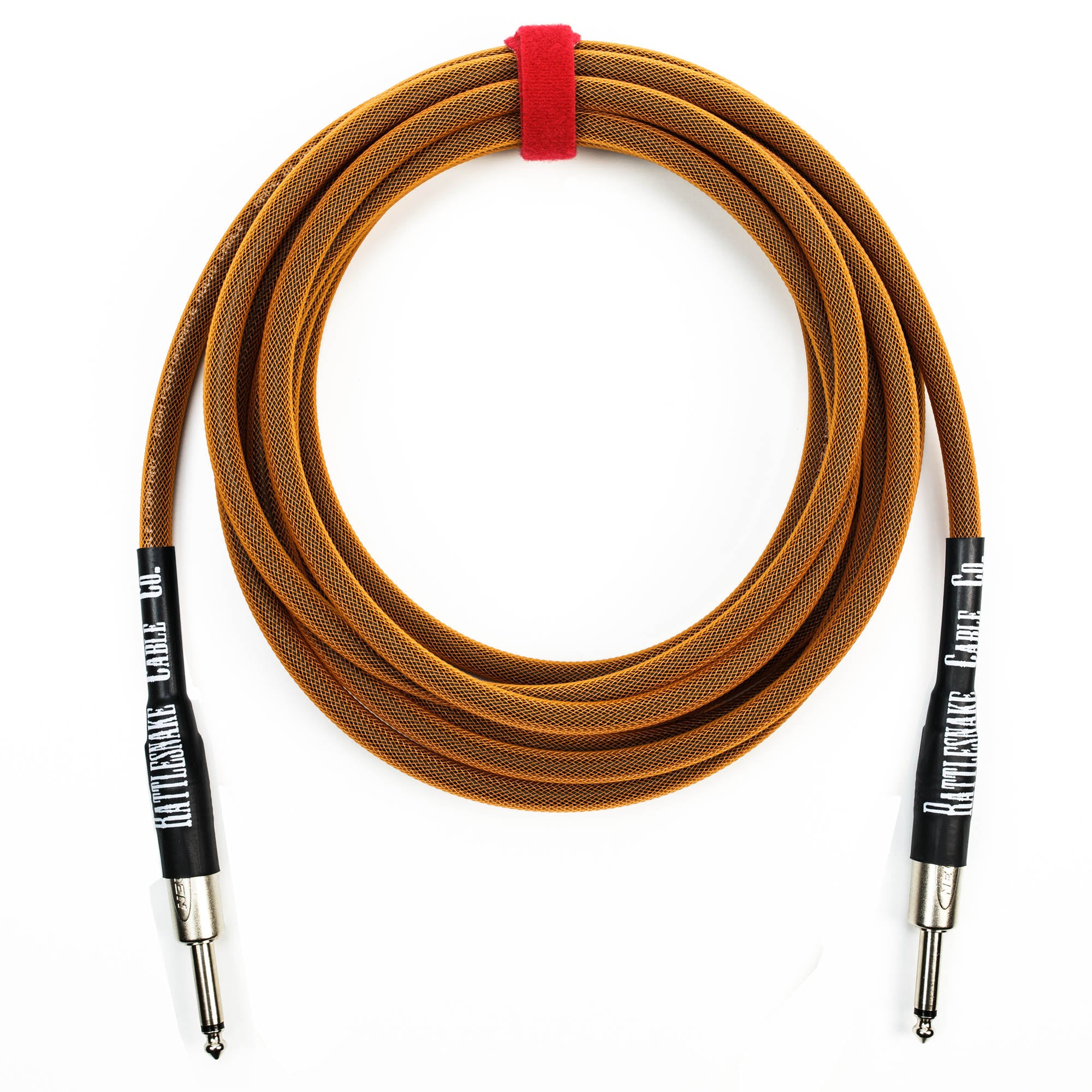 Rattlesnake Cable Company 15' Copper Guitar Cable - Straight Plugs