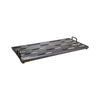 Creation Music Company - Aero Series Pedalboard 24x12.5 - Gunmetal w/Soft Case