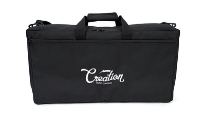 Creation Music Company - Aero Series Pedalboard 24x12.5 - Black w/Soft Case