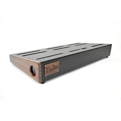 Creation Music Company - Standard Series Pedalboard 24x12.5 - Walnut w/Soft Case