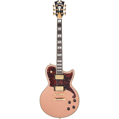 D'Angelico Deluxe Atlantic Limited Edition - Matte Rose Gold