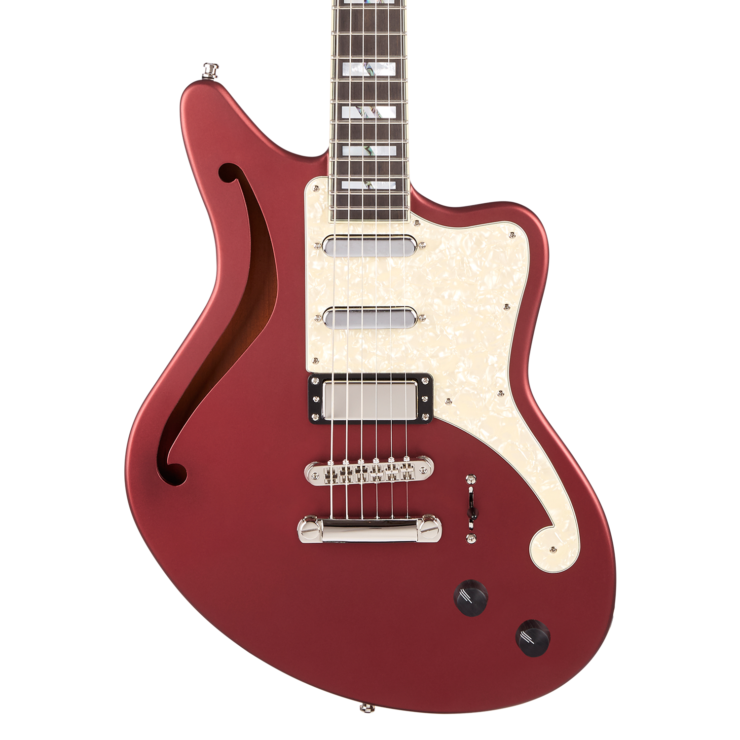 D'Angelico Deluxe Bedford SH Limited Edition - Matte Wine