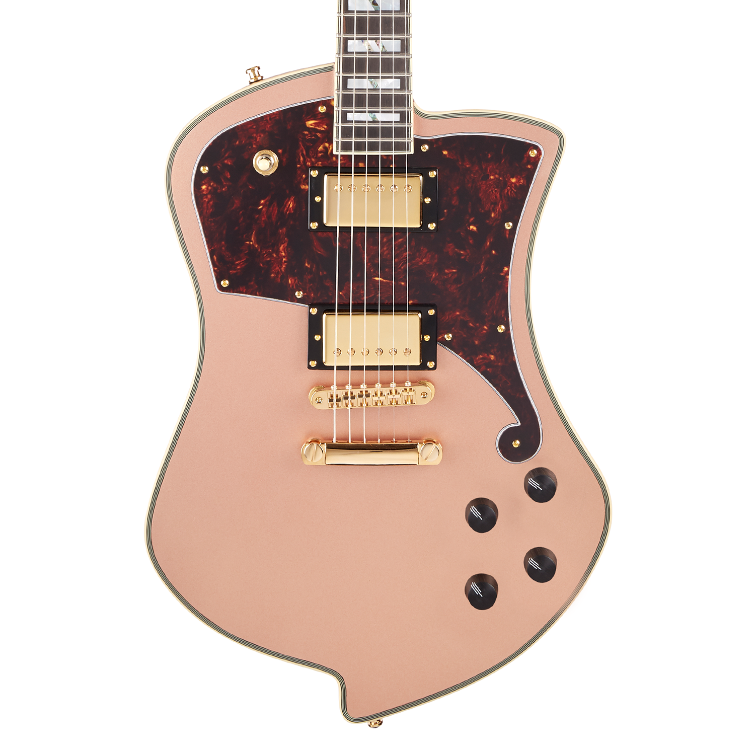 D'Angelico Deluxe Ludlow Limited Edition - Matte Rose Gold