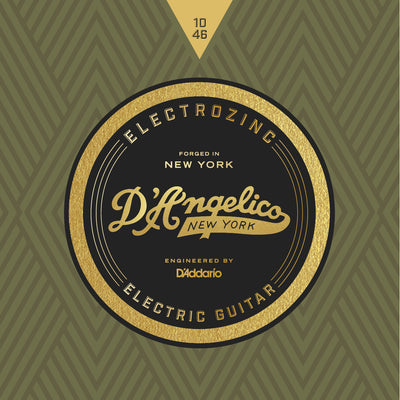 D'Angelico Electrozinc Strings Rock 10-46