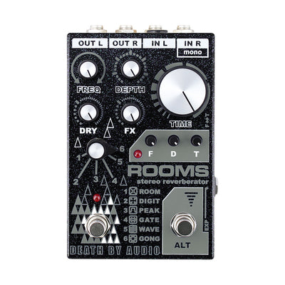 Death by Audio ROOMS Stereo, Multi Function Digital Reverb