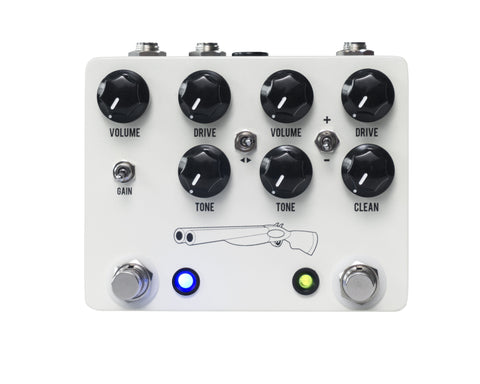 JHS Pedals Double Overdrive Barrel V4