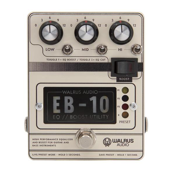 Walrus Audio EB-10 Preamp // EQ // Boost