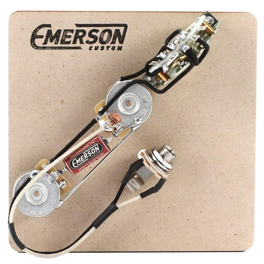 Emerson Custom 3-Way Telecaster Prewired Kit