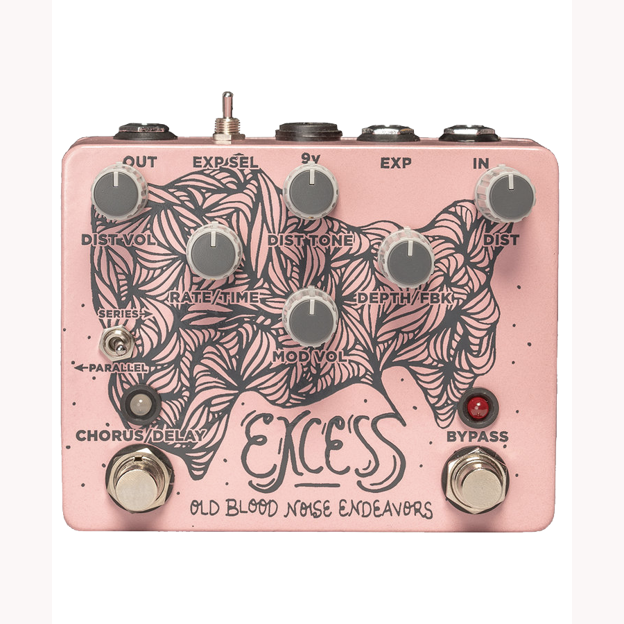 Old Blood Noise Endeavors - Excess Distortion / Chorus / Delay