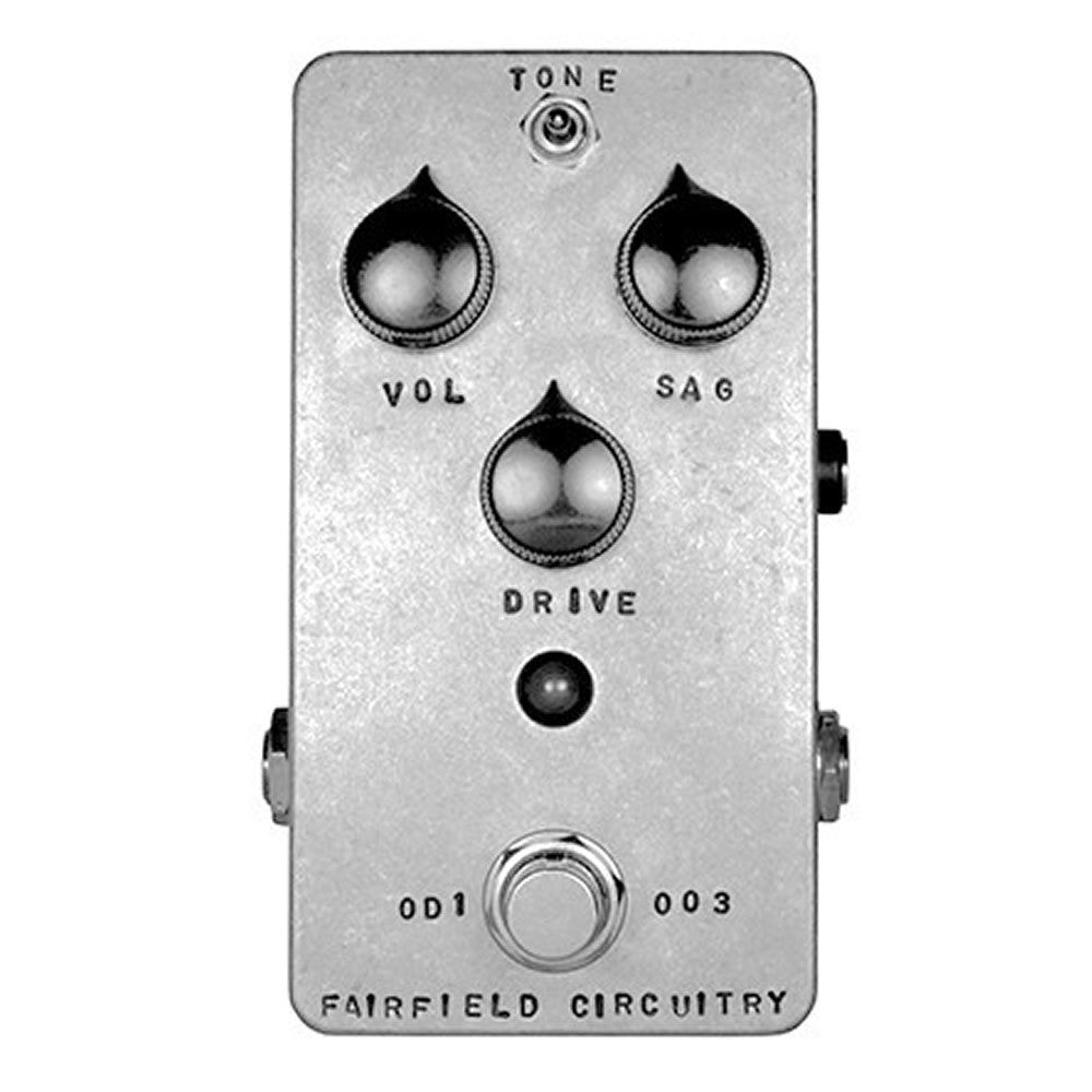 Fairfield Circuitry The Barbershop Millenium Overdrive