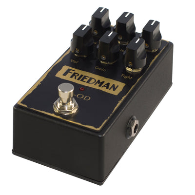 Friedman BE-OD Overdrive Guitar Pedal