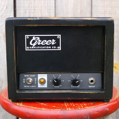 Greer Amps Mini Chief 3W Guitar Amplifier