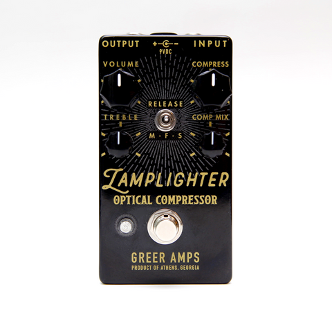 Greer Amps Lamplighter Optical Compressor