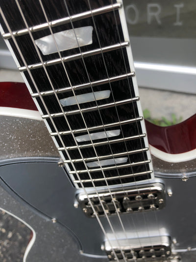 Kauer Guitars Starliner Express, Silver Sparkle - #1026-94