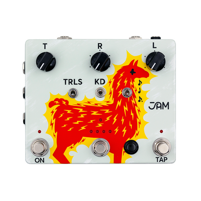 Jam Pedals Delay Llama Xtreme Guitar Effects Pedal