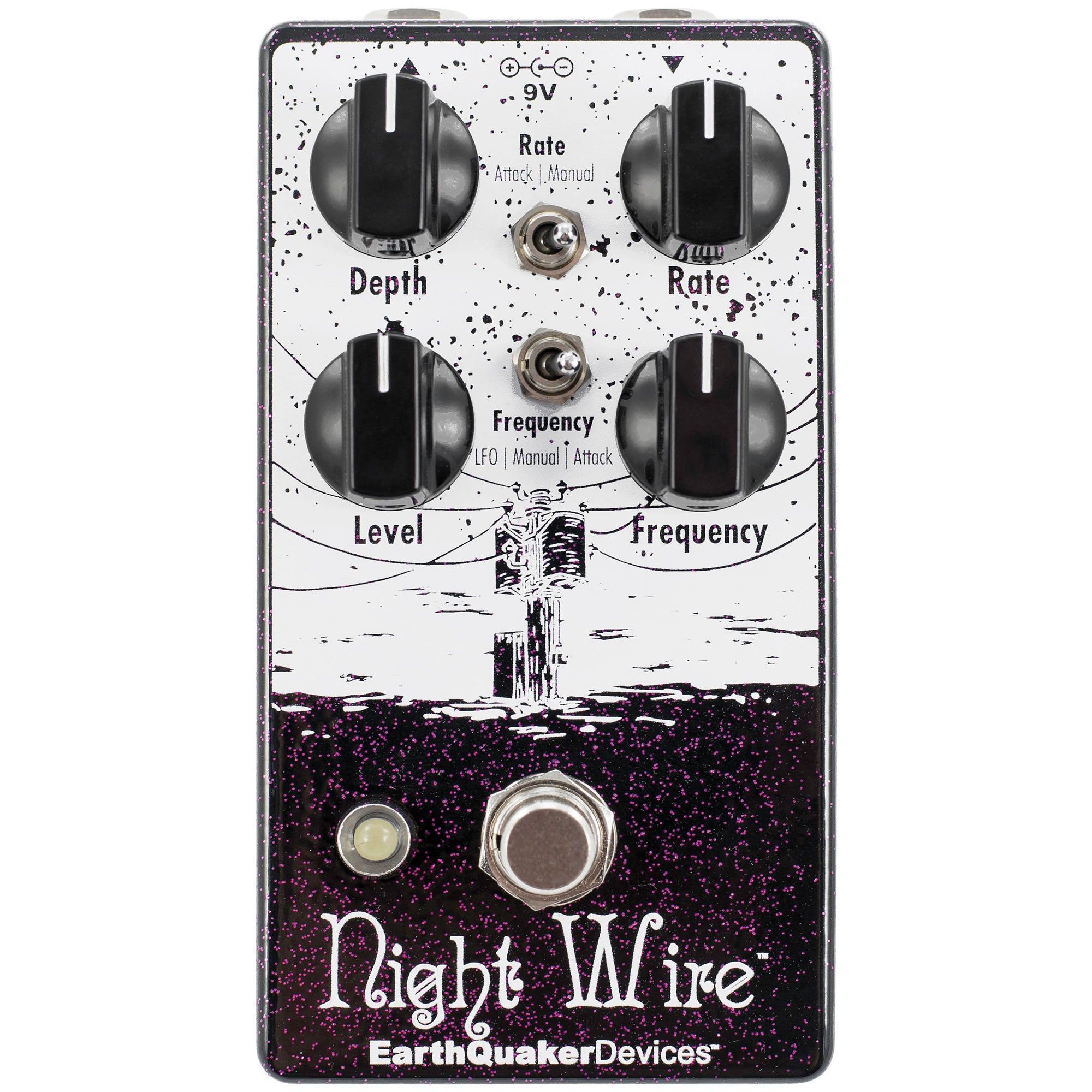 Earthquaker Devices Night Wire Harmonic Tremolo - V2