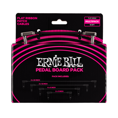 Ernie Ball Flat Ribbon Patch Cables