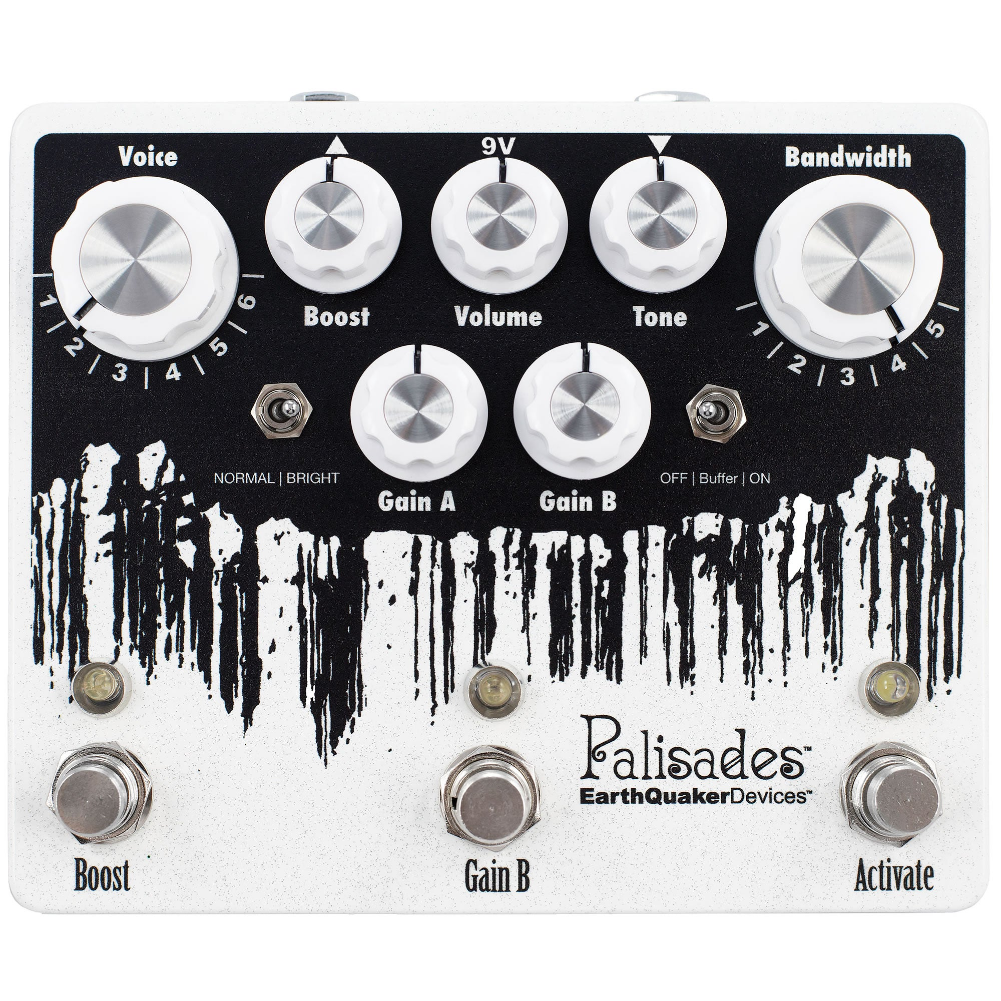 Earthquaker Devices Palisades Mega Ultimate Overdrive - V2