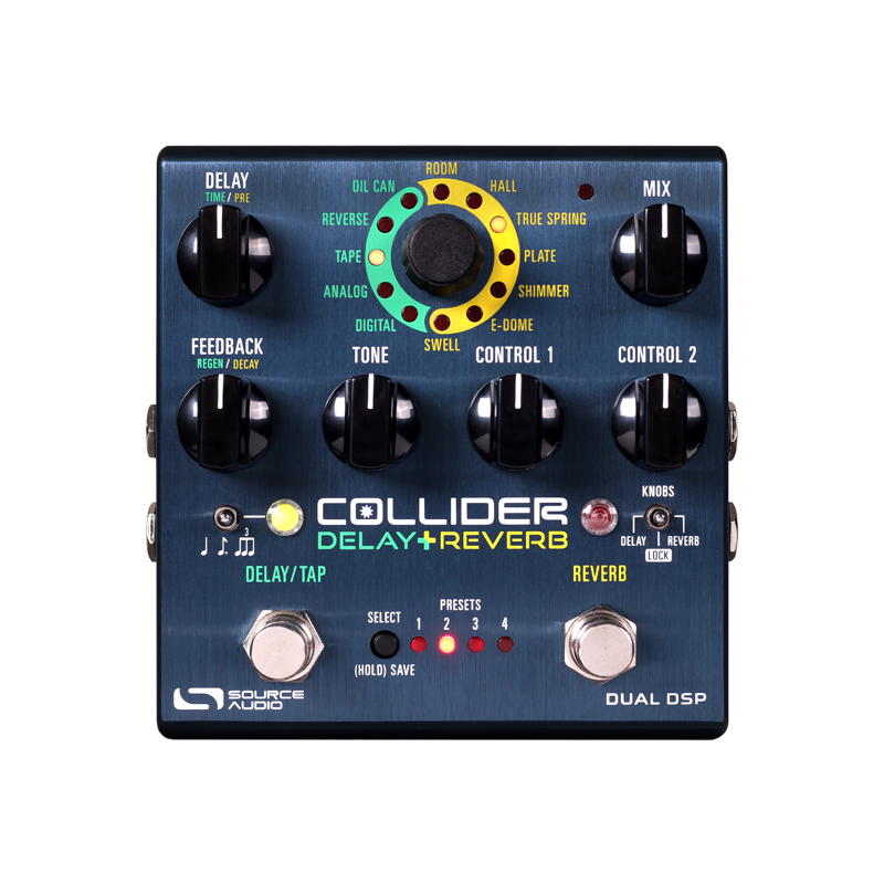 Source Audio Collider Delay & Reverb Pedal