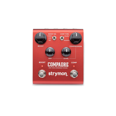 Strymon Compadre Dual Voice Compressor & Boost Guitar Effects Pedal