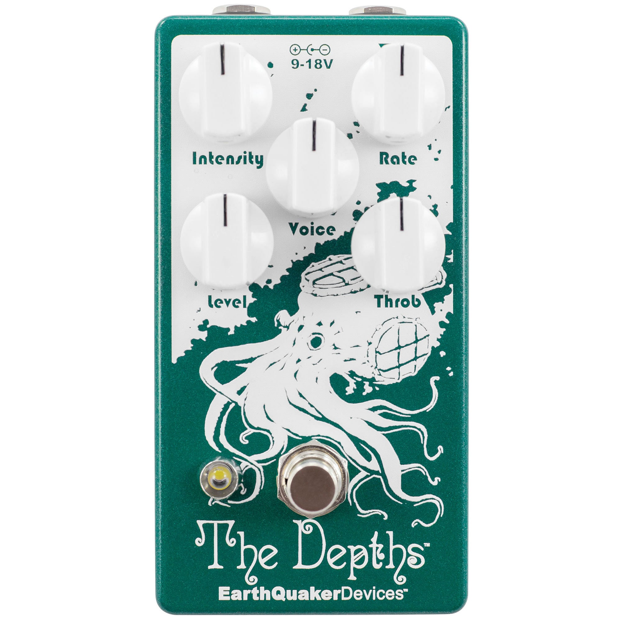 Earthquaker Devices The Depths Analog Optical Vibe Machine - V2