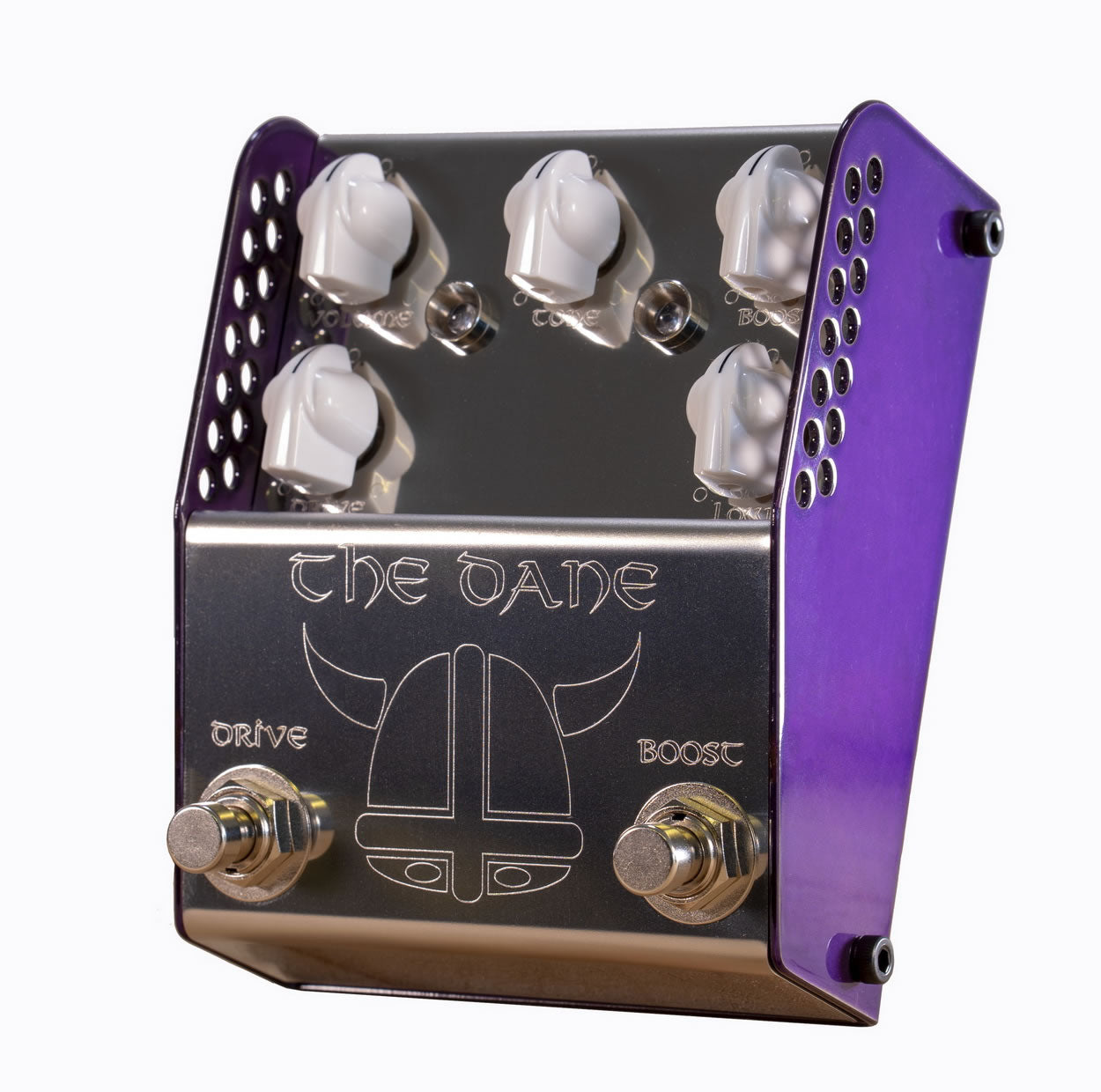 ThorpyFX The Dane Overdrive & Booster Guitar Effects Pedal