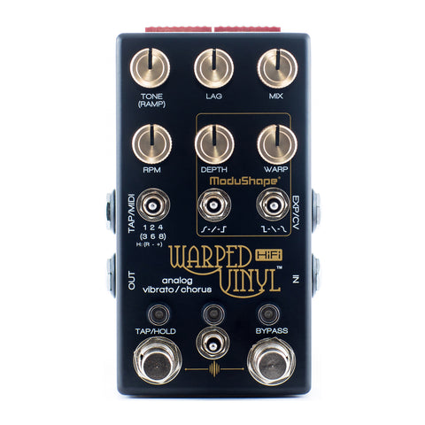 Chase Audio Bliss Warped Vinyl HiFi Vibrato